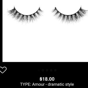 Sephora Amour luxe false lashes
